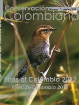 Conservación Colombiana 17: Birds of Colombia 2012 / Aves de Colombia 2012