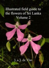 Illustrated Field Guide to the Flowers of Sri Lanka, Volume 2 Image