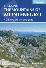 Cicerone Guides: The Mountains of Montenegro