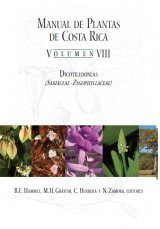 Manual de Plantas de Costa Rica: Volumen VIII
