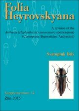 Folia Heyrovskyana, Supplement 14: Revision of Anthaxia (Haplanthaxia) aeneocuprea Species-Group (Coleoptera: Buprestidae: Anthaxiini)