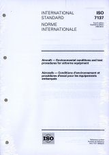 ISO 7137:1995 Aircraft - Environmental Conditions and Test Procedures for Airborne Equipment