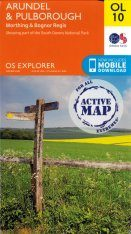 OS Explorer Map OL10: Arundel & Pulborough - Worthing & Bognor Regis
