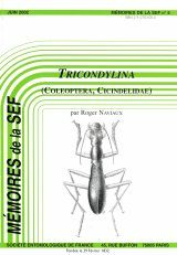 Tricondylina (Coleoptera, Cicindelidae): Révision des Genres Tricondyla Latreille et Derocrania Chaudoir et Descriptions de Nouveaux Taxons [Tricondylina: Revision of the Genera Tricondylina Latreille and Derocrania Chaudoir and Descriptions of New Taxa]