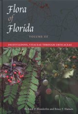 Flora of Florida, Volume 3: Dicotyledons, Vitaceae Through Urticaceae Image