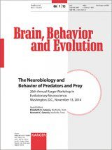The Neurobiology and Behavior of Predators and Prey