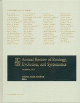 Annual Review of Ecology, Evolution, and Systematics, Volume 46