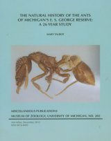 The Natural History of the Ants of Michigan's E.S. George Reserve Image