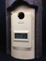 Nestbox Counter for Schwegler 1B Nestbox: with SD Datalogger