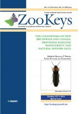 ZooKeys 573: The Coleoptera of New Brunswick and Canada Image