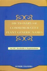 Dictionary of Commemorative Plant Generic Names, Volume 14: Horsfieldia to Hyphobarlettia Image