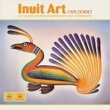 Inuit Art: Cape Dorset 2017 Sticker Wall Calendar
