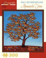 Monarch Tree 300-Piece Jigsaw Puzzle