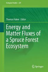 Energy and Matter Fluxes of a Spruce Forest Ecosystem Image