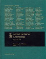 Annual Review of Entomology, Volume 62