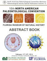 10th North American Paleontological Convention, Abstract Book Image
