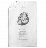 Hazel Dormouse Tea Towel