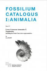 Fossilium Catalogus Animalia, Volume 157 [English]