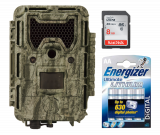 Bushnell Trophy Cam Aggressor HD Low Glow 24MP Camo (119875) - Starter Bundle