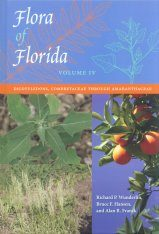 Flora of Florida, Volume 4: Dicotyledons, Combretaceae through Amaranthaceae