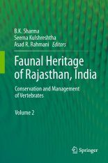 Faunal Heritage of Rajasthan, India, Volume 2