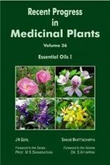 Recent Progress in Medicinal Plants, Volume 36: Essential Oils I