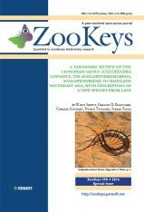ZooKeys 590: A Taxonomic Review of the Centipede Genus Scolopendra Linnaeus, 1758 (Scolopendromorpha, Scolopendridae) in Mainland Southeast Asia, with Description of a New Species from Laos