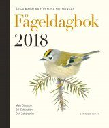 Fågeldagbok 2018: Årsalmanacka för Egna Noteringar [Bird Diary 2018: Annual Almanac for your Own Notes]