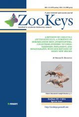 ZooKeys 591: A Revision of Chilicola (Heteroediscelis), a Subgenus of Xeromelissine Bees (Hymenoptera, Colletidae) Endemic to Chile