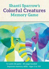 Colourful Creatures Memory Game
