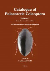 Catalogue of Palaearctic Coleoptera, Volume 1