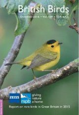 British Birds Report on Rare Birds in Great Britain in 2015