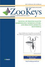 ZooKeys 696: Manual of Praying Mantis Morphology, Nomenclature, and Practices (Insecta, Mantodea)