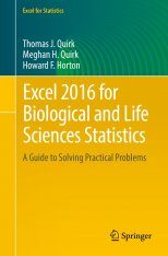 Excel 2016 for Biological and Life Sciences Statistics