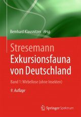 Stresemann Exkursionsfauna von Deutschland, Band 1: Wirbellose: Ohne Insekten [Stresemann Excursion Fauna of Germany, Volume 1: Invertebrates: Excluding Insects]