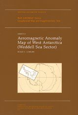 Aeromagnetic Anomaly Map of West Antarctica (Wedell Sea Sector)