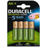 Rechargeable AA NiMH Battery (HR6): 4 pack