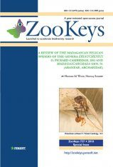 ZooKeys 727: A Review of the Madagascan Pelican Spiders of the Genera Eriauchenius O. Pickard- Cambridge, 1881 and Madagascarchaea gen. n. (Araneae, Archaeidae)