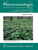 Phytocoenologia, Volume 46, Issue 4: Special Issue on Halophytic Vegetation