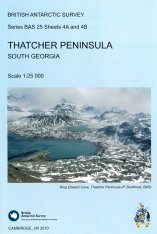 Thatcher Peninsula, South Georgia (map)