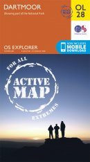 OS Explorer Map OL28: Dartmoor
