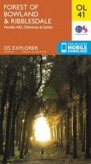OS Explorer Map OL41: Forest of Bowland & Ribblesdale