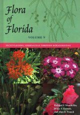 Flora of Florida, Volume 5: Dicotyledons, Gisekiaceae through Boraginaceae