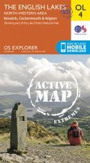 OS Explorer Map OL4: The English Lakes - North-Western Area: Keswick, Cockermouth & Wigton