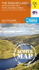 OS Explorer Map OL5: The English Lakes - North-Eastern Area: Penrith, Patterdale & Caldbeck