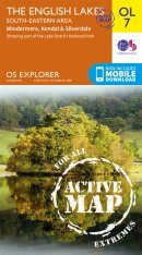 OS Explorer Map OL7: The English Lakes - South-Eastern Area: Windermere, Kendal & Silverdale