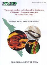 Taxonomic Studies on Scolopendrid Centipedes (Chilopoda: Scolopendromorpha) of Kerala State, India