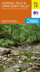OS Explorer Map OL19: Howgill Fells & Upper Eden Valley