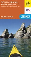 OS Explorer Map OL20: South Devon - Brixham to Newton Ferrers