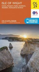 OS Explorer Map OL29: Isle of Wight